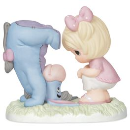 Precious Moments® Winnie the Pooh Eeyore and Girl Figurine, , large