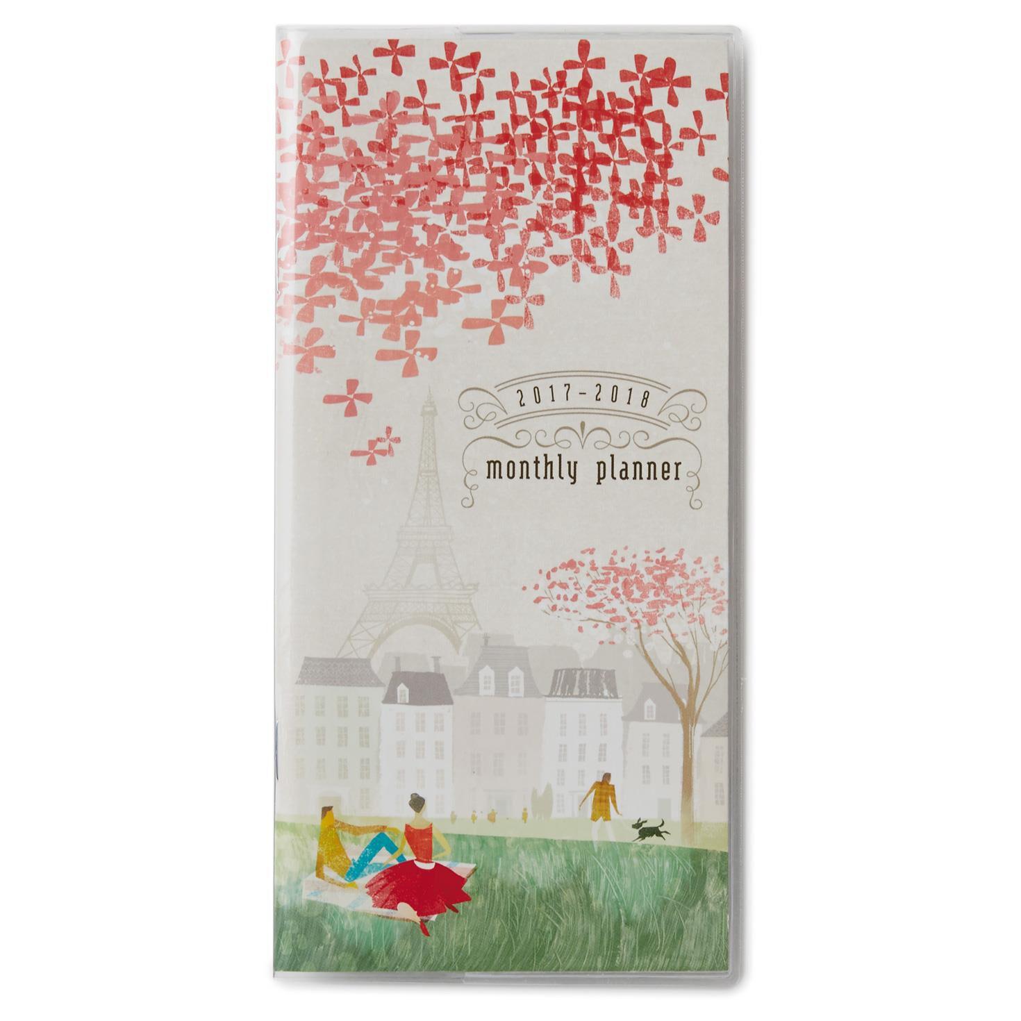Paris 2017-2018 Monthly Pocket Calendar - Planners - Hallmark