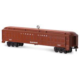 LIONEL® 2627 Madison Passenger Car Ornament, , large