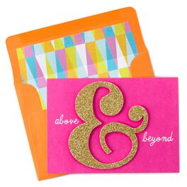 Above & Beyond Thank You Notes, Pack of 8, , large
