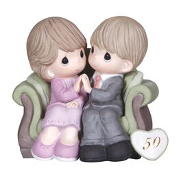 Precious Moments® Through The Years 50th Anniversary  Figurine, , large