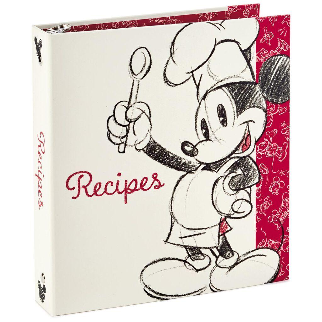 Mickey Mouse Recipe Organizer Book Recipe Organizers Hallmark