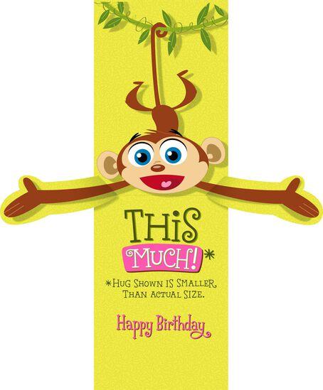 Monkey Happy Birthday Card for Nana Greeting Cards Hallmark – Free Happy Birthday E Cards Hallmark