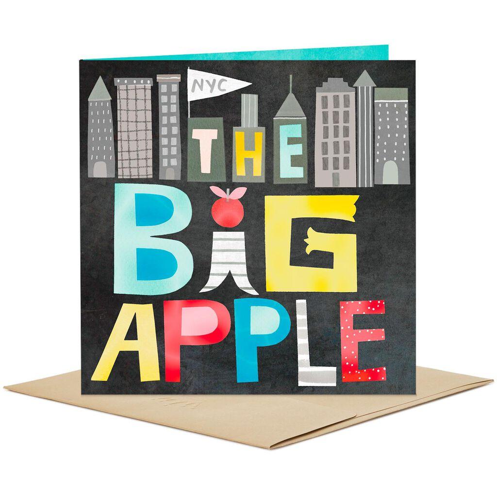 New York City The Big Apple Blank Card Greeting Cards Hallmark