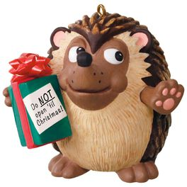 U Can't Touch This Hedgehog Musical Ornament, , large