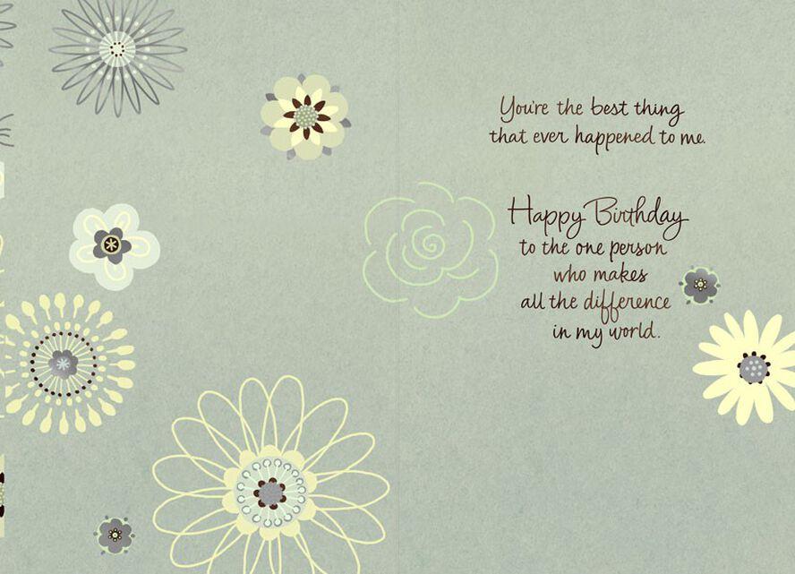 Sweet In Sweetheart Love Birthday Card Greeting Cards Hallmark