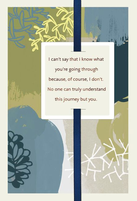 I care and ill be there sympathy card greeting cards hallmark i care and ill be there sympathy m4hsunfo