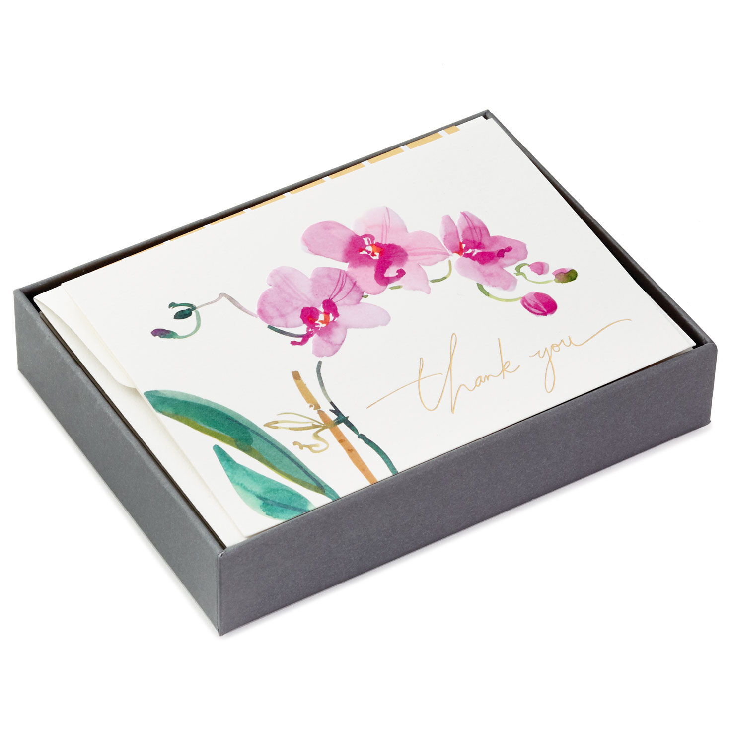 4 BOXES OF 15 FAST SHIP HALLMARK BLANK STATIONARY FOR THANK YOU NOTES AND OTHER
