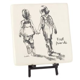 Friends First Siblings Decorative Tile, , large