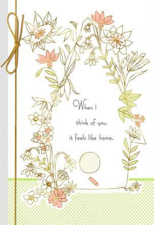 Mom, You Feel Like Home Mother's Day Card