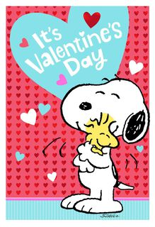 Peanuts® Snoopy You're Loved A Lot Valentine's Day Cards, Pack of 10,