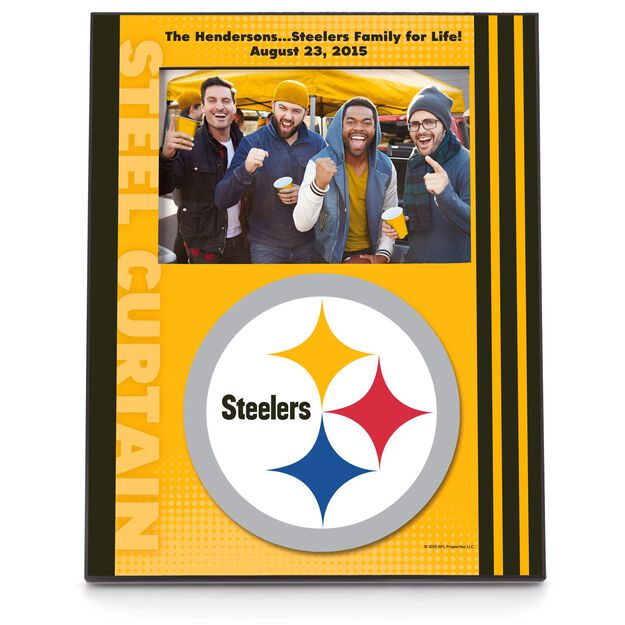 pittsburgh steelers personalized 4x6 picture frame