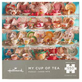 My Cup of Tea 550-Piece Jigsaw Puzzle, , large