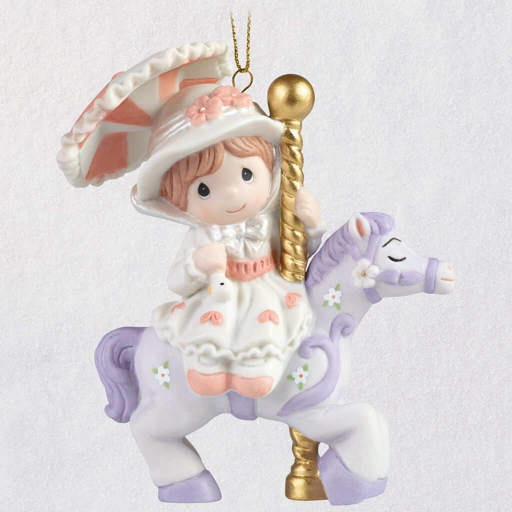 Disney Mary Poppins Precious Moments Porcelain Ornament