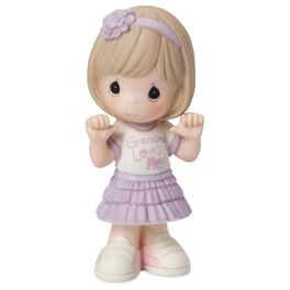 Precious Moments® Grandma Loves Me Girl Figurine, , large