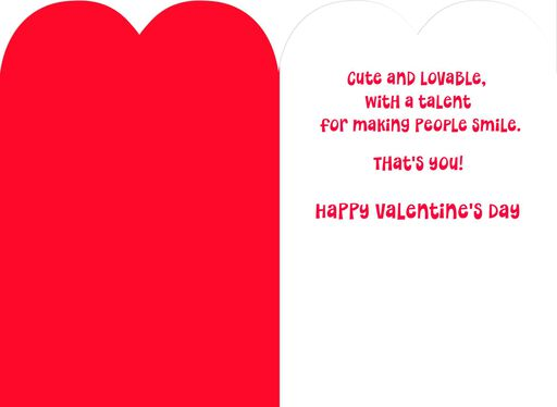 Mickey Mouse One Fun Son Valentine's Day Card,