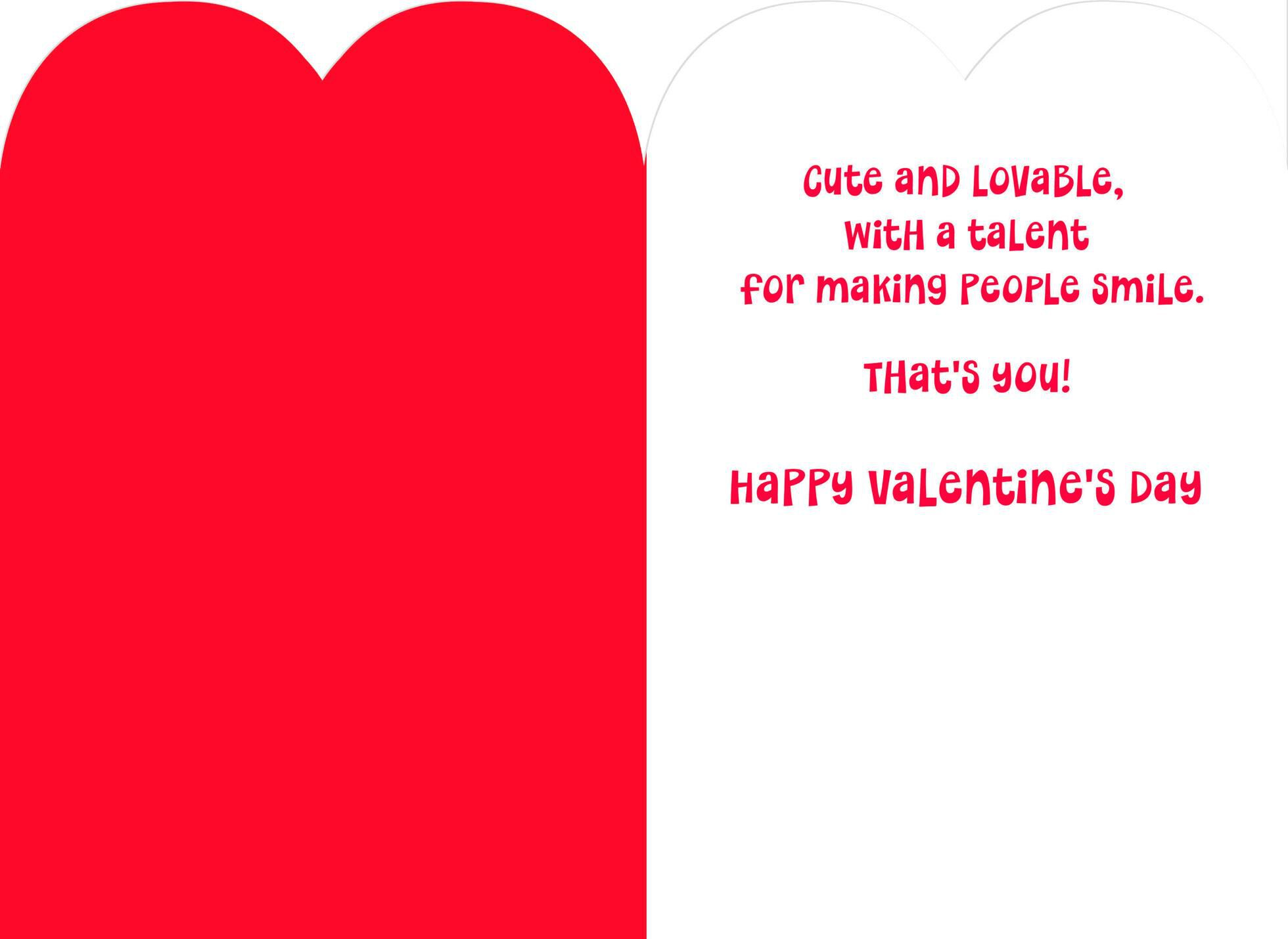 Mickey Mouse One Fun Son Valentineu0027s Day Card,