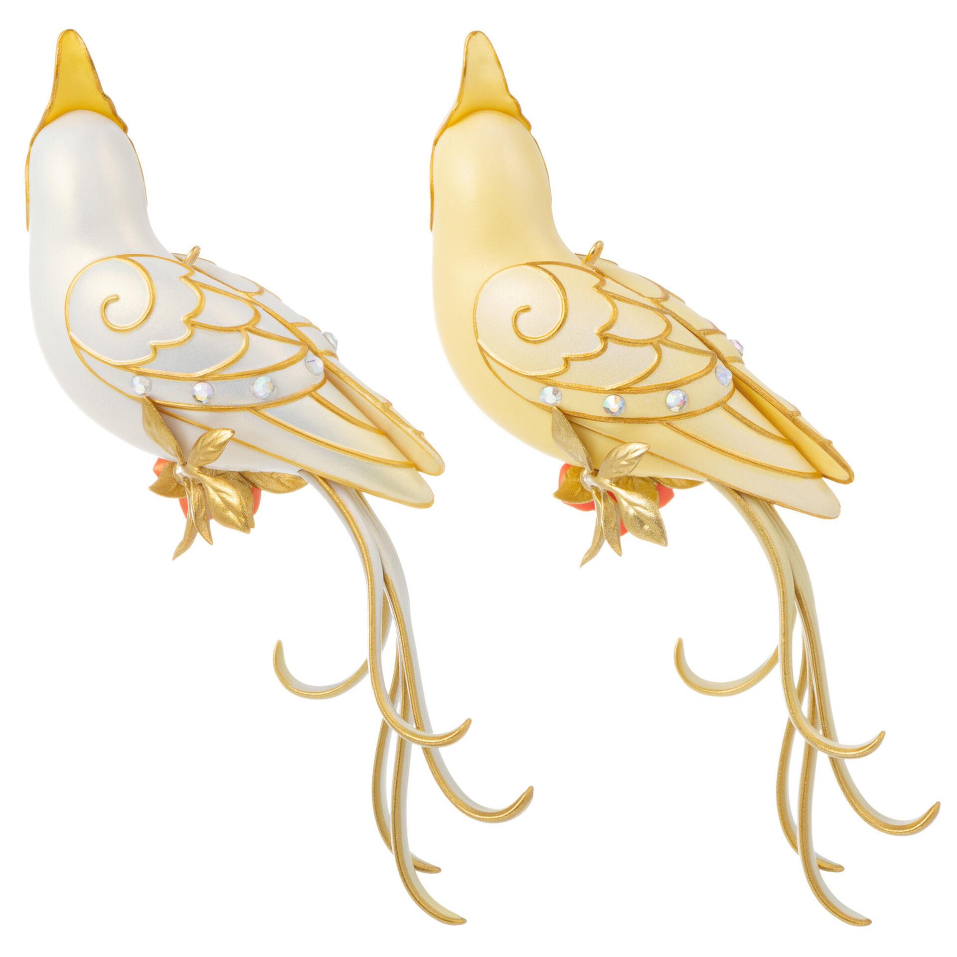FLASH SALE Beauty Of Birds Hallmark Clever Cockatiel 2020 ALL WHITE Version