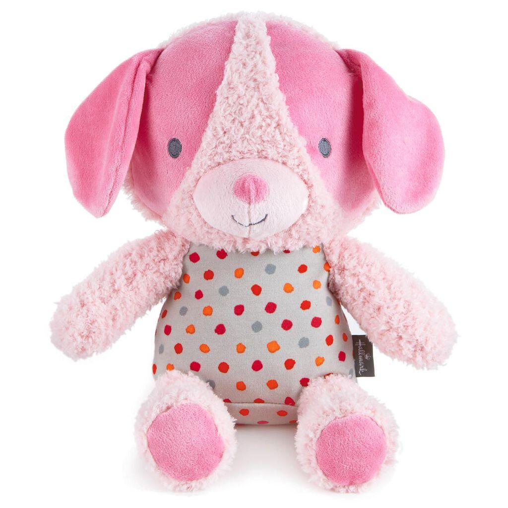 Cuddly Pink Puppy Stuffed Animal Classic Stuffed Animals Hallmark