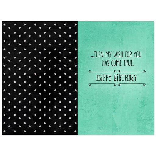 My Wish For You Birthday Card