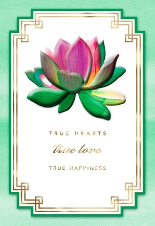 True Hearts, True Love Anniversary Card