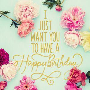 Be Okay Musical Birthday Card