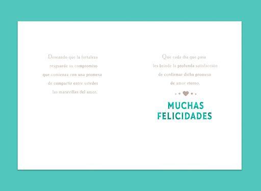 To Love and to Grow Spanish-Language Wedding Card,