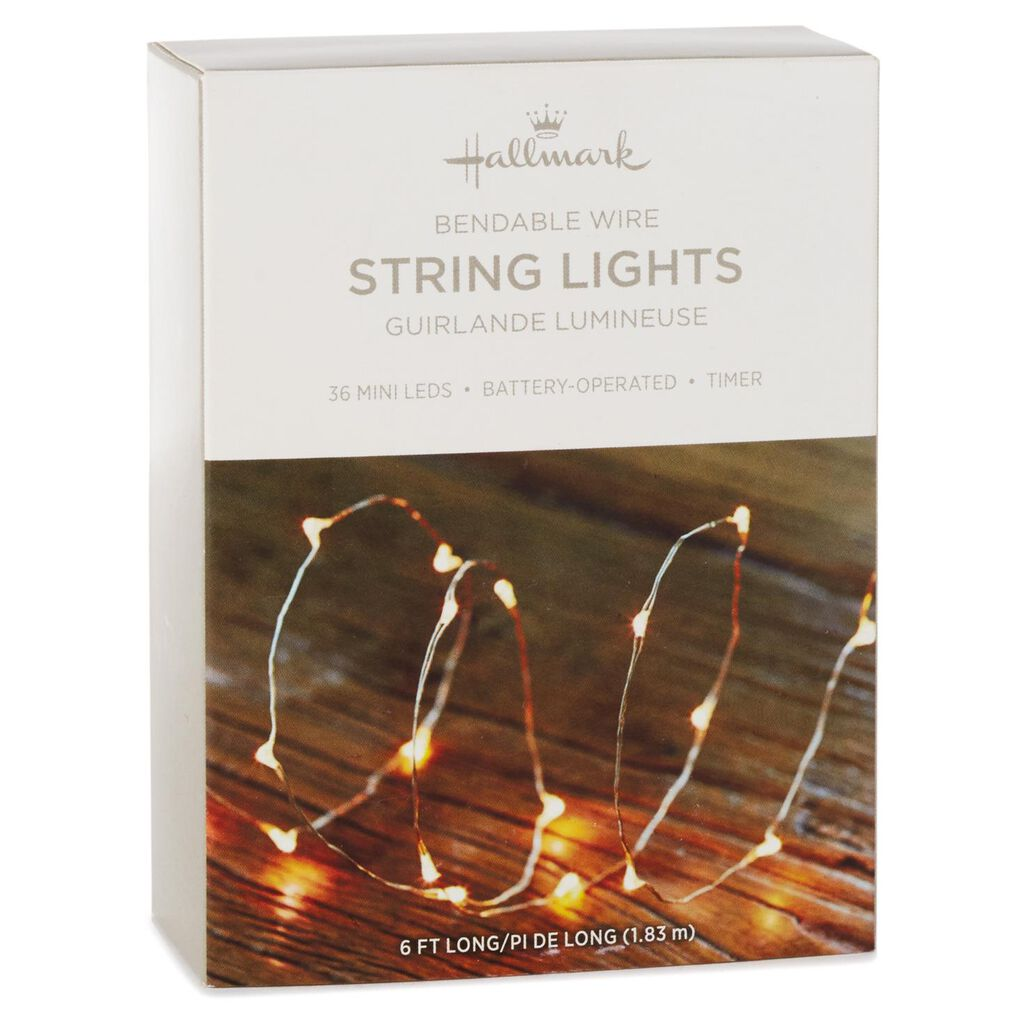 Micro-LED String Lights With Battery