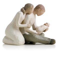 Willow Tree 174 New Life New Baby Family Figurine Figurines
