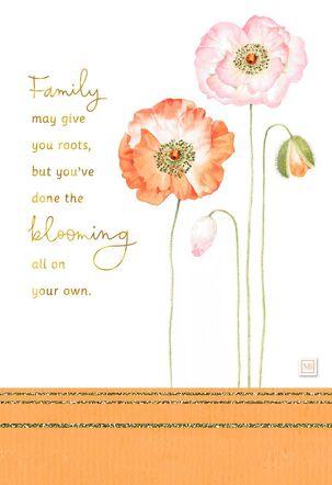 You're A Beautiful Bloom Marjolein Bastin Birthday Card