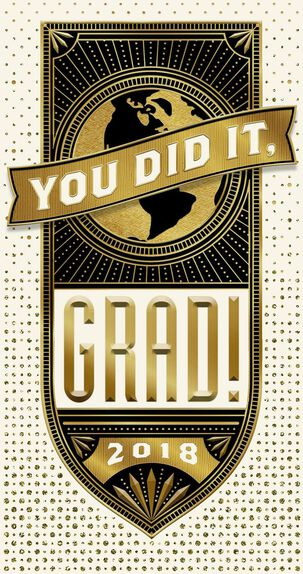 You Did It! Money Holder Graduation Card