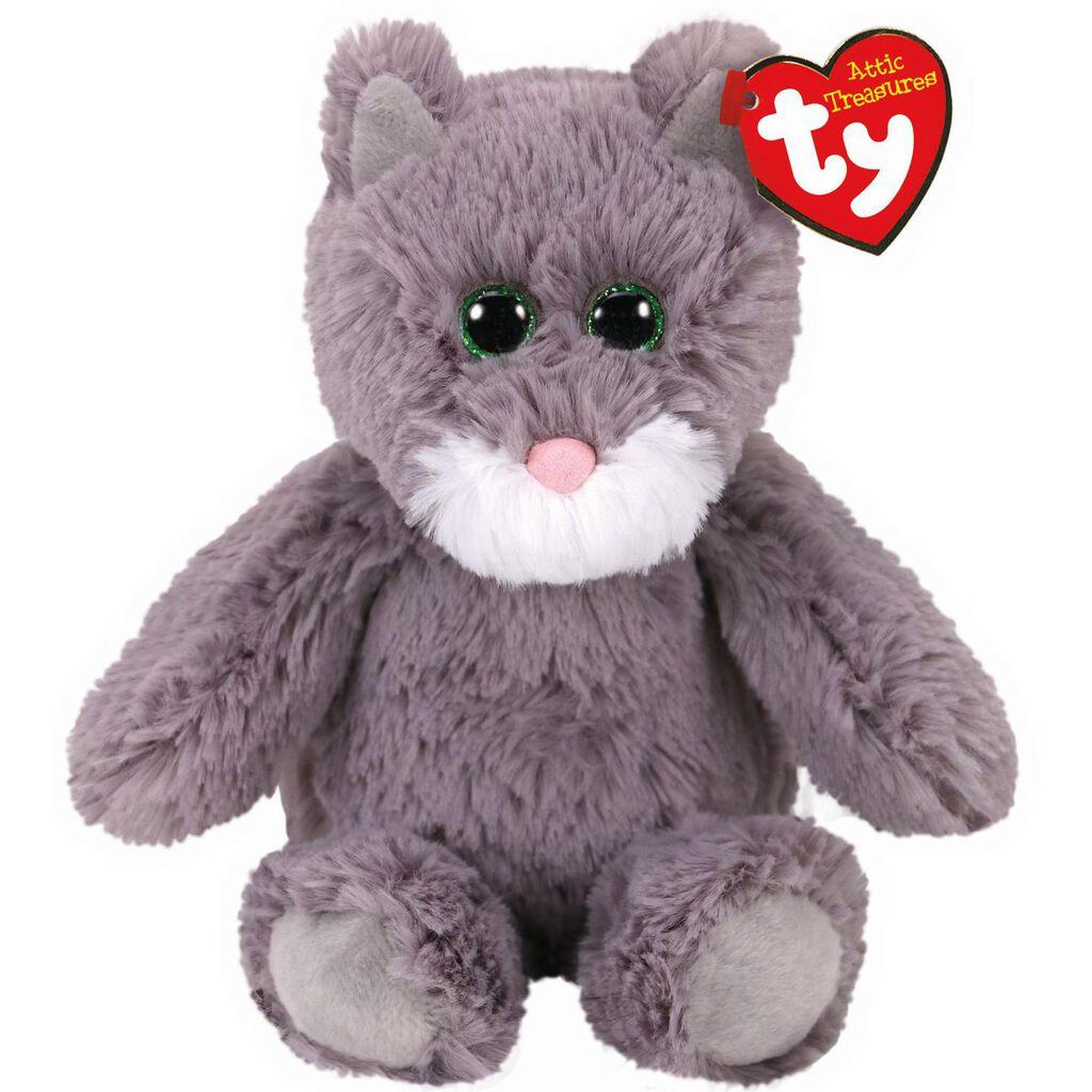 Ty Attic Treasures Kit Cat Stuffed Animal 8 Classic Stuffed