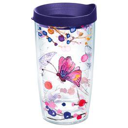 Tervis® Watercolor Butterflies Tumbler, 16 oz., , large