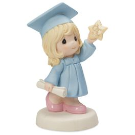 Precious Moments® Reach for the Stars Graduation Girl Figurine, , large
