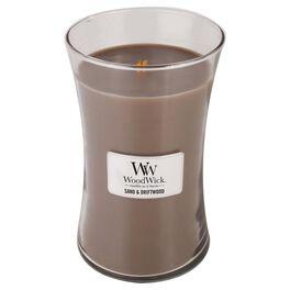 WoodWick® Sand & Driftwood Large Candle,  22 oz, , large