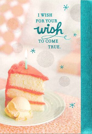 Cake and Ice Cream Birthday Card