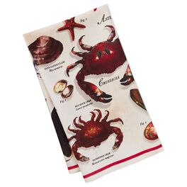 Cedar Cove Sea Life Tea Towel, , large