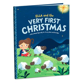 Very First Christmas Personalized Book,