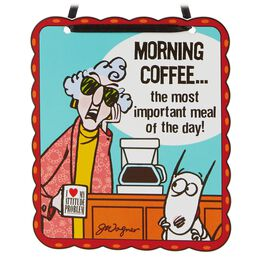 Morning Coffee Maxine Ornament, , large