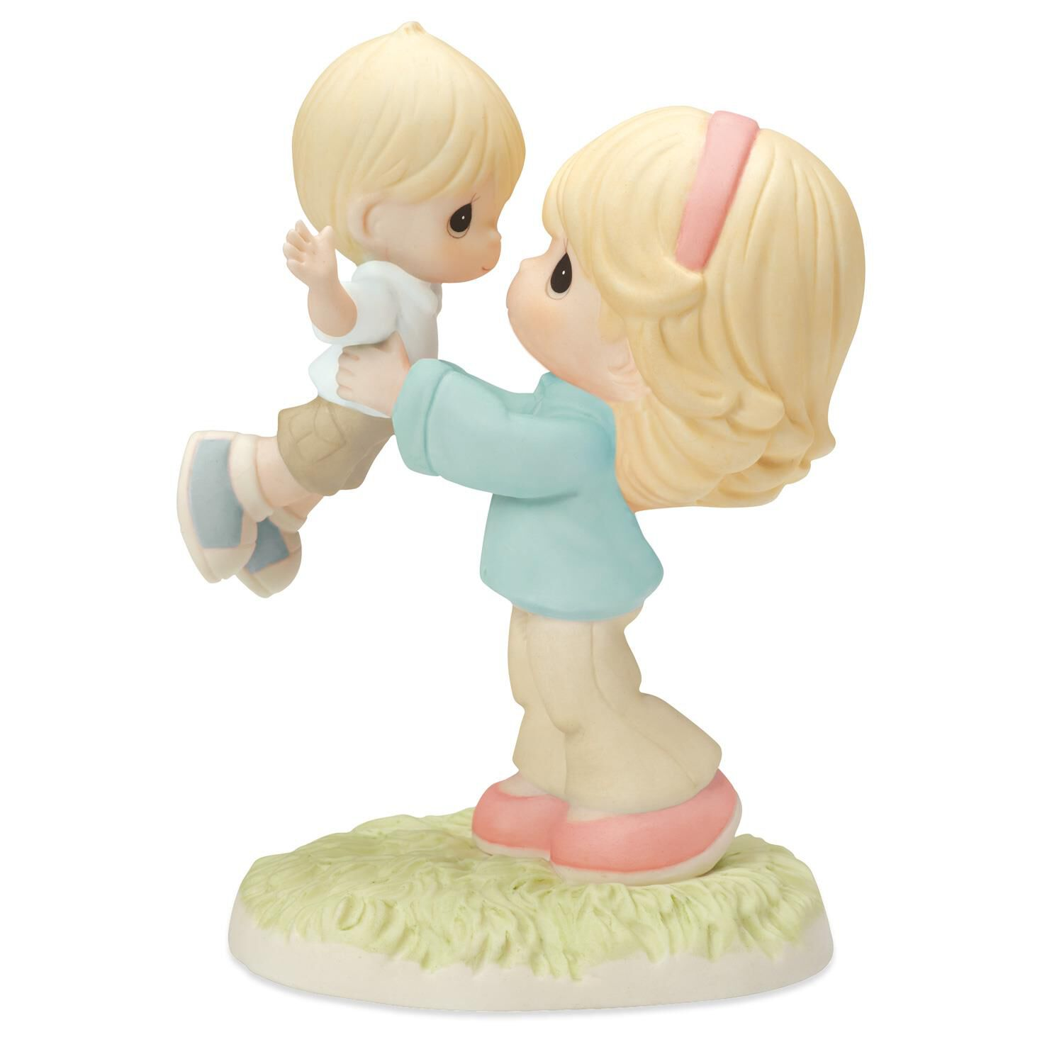 precious moments your love lifts me mother and son figurine