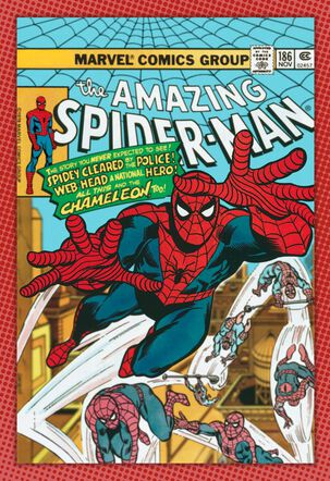 Marvel The Amazing Spider-Man Comic Book Cover Father's Day Card