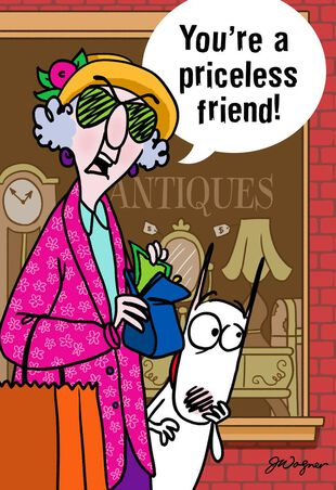 489e1b824bf78 Maxine™ You're Priceless Funny Friendship Card