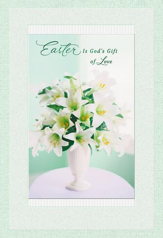 Gods gift of love religious easter card greeting cards hallmark gods gift of love religious easter card negle Images