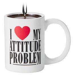 Attitude Coffee Mug Maxine Ornament, , large
