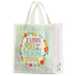 Natural Life Love You to the Moon Gift Bag, Medium, , large