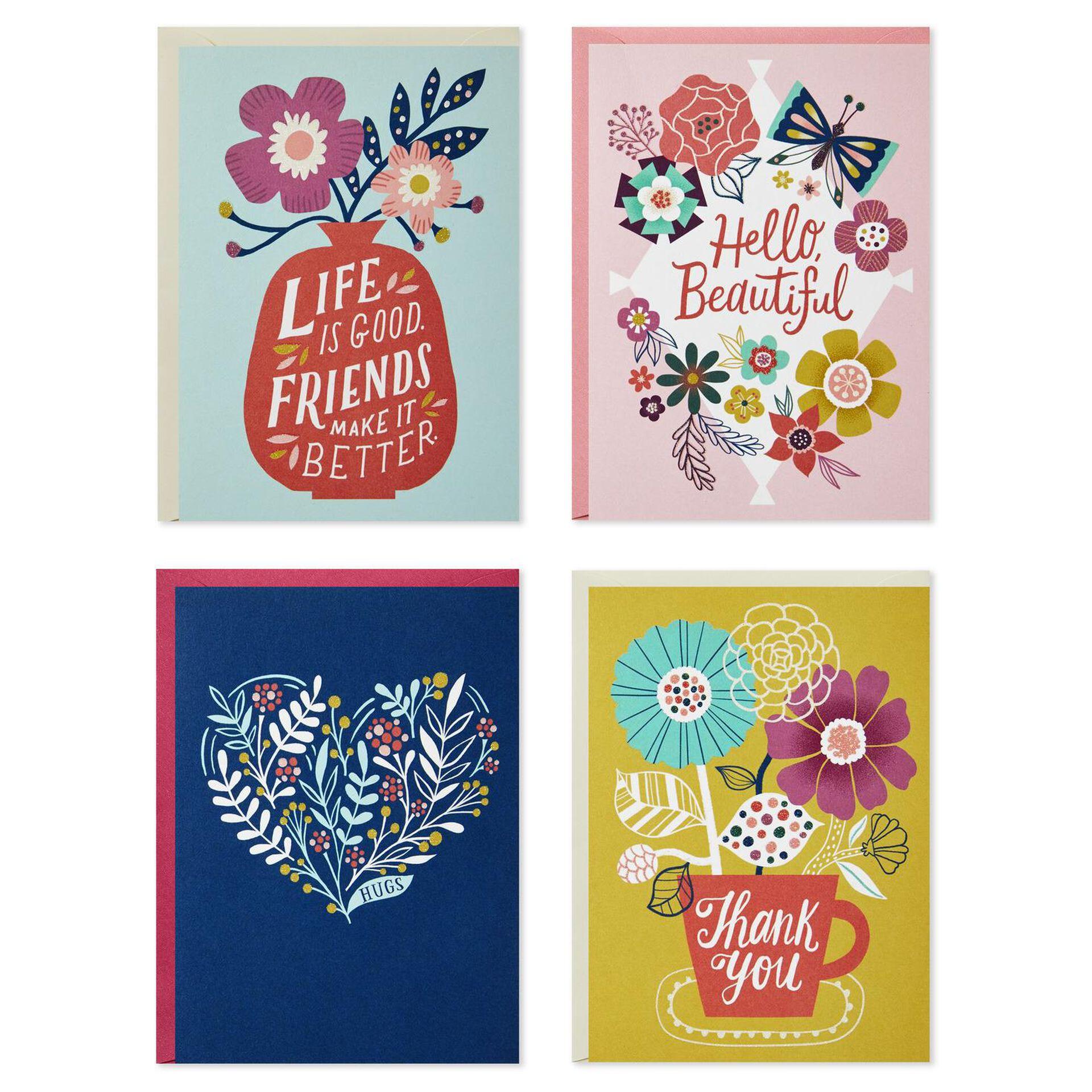 CafePress Matte Pack of 20 Pk Of 20 - Blank Note Cards Celebrate Nurses Note Cards