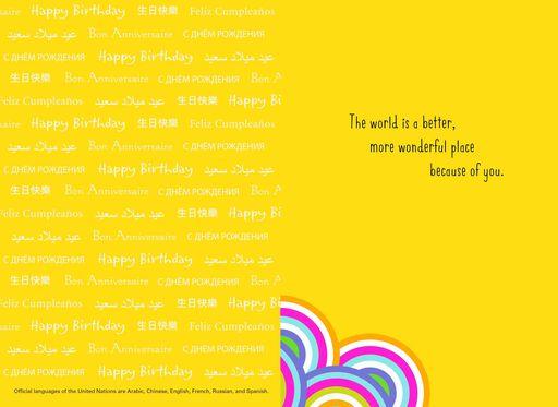 Children Around the World Birthday Card,
