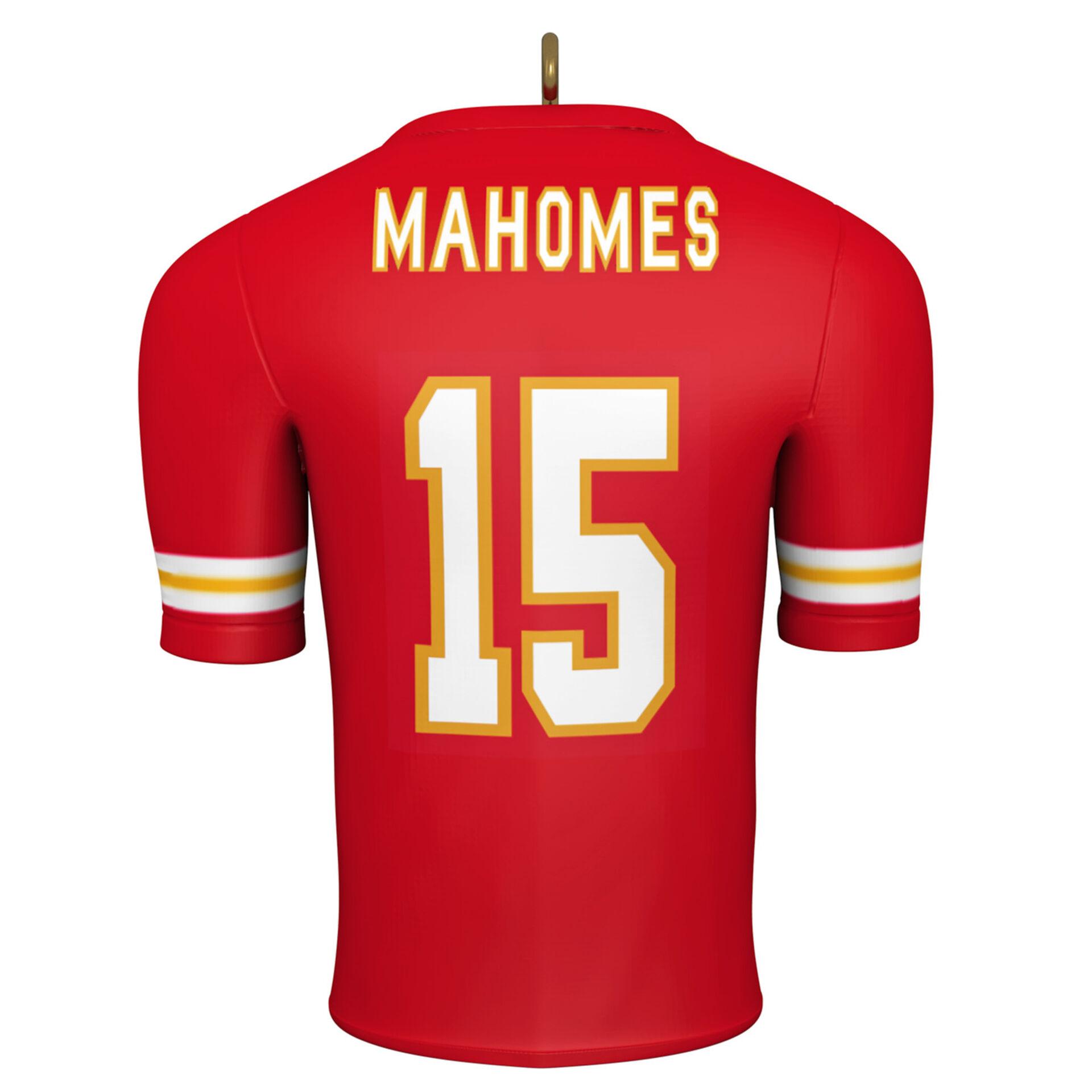 2019 Hallmark  Ornament  Kansas City Chiefs  Superbowl Champions  Mahomes  NEW