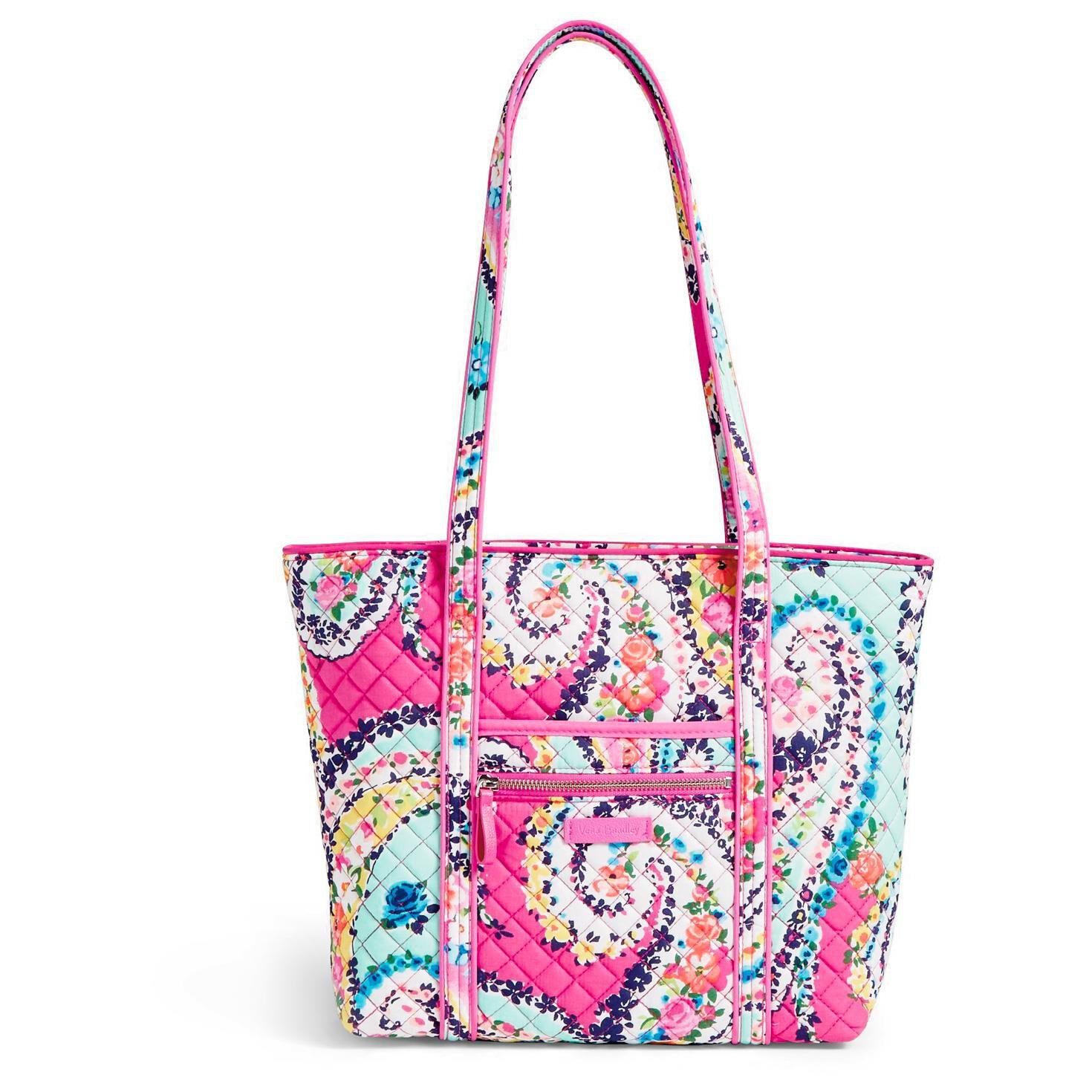 Tote Bag - Mini pink floral tote by VIDA VIDA 4nZEo