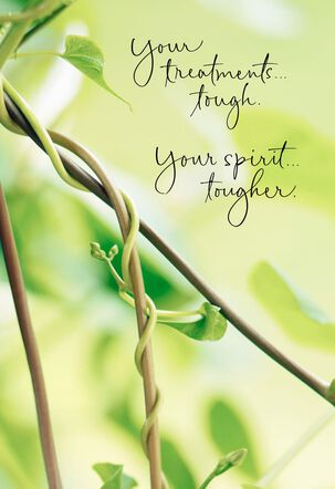 You're Tougher Than Your Treatments Encouragement Card